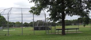 Armatage Community Center baseball field.