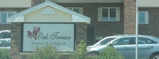 Oak Terrace Senior Living building.