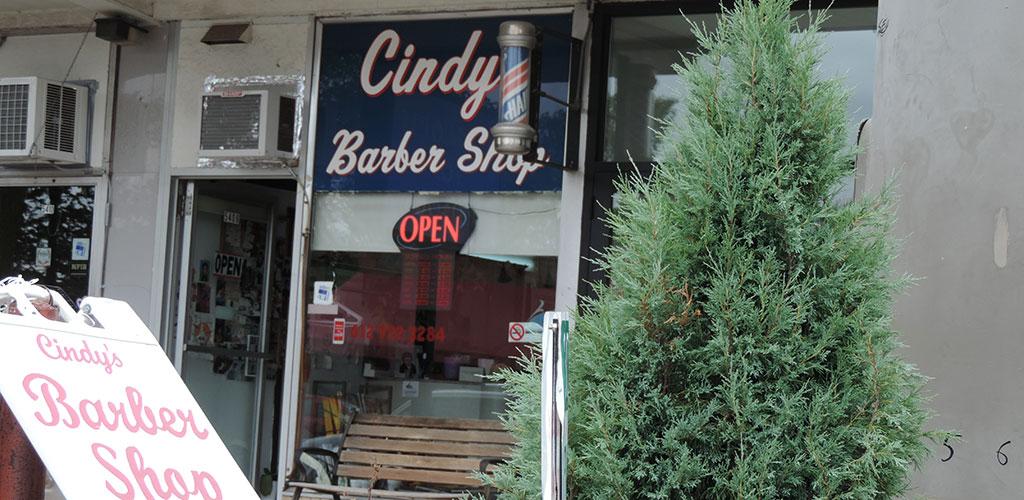 Cindy's Barber Shop.